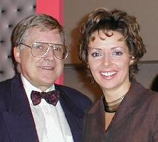Brian with Carol Vorderman