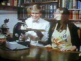 Brian on TV with Carol Vorderman